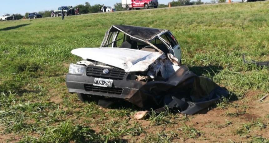 San Luis: un joven falleció en un accidente en la Ruta Nacional 146